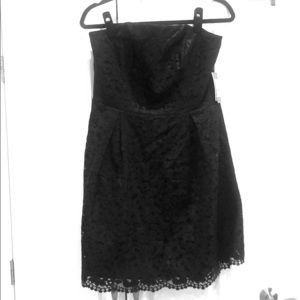 NWT Lilly Pulitzer Black Strapless Dress - Size 12
